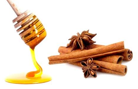 Masque cannelle miel