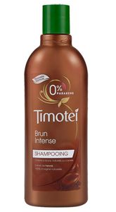 shampooing timotei brun intense au henné