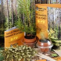 radis et capucine coffret découverte de la forêt