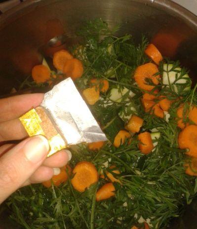 soupe courgette carotte