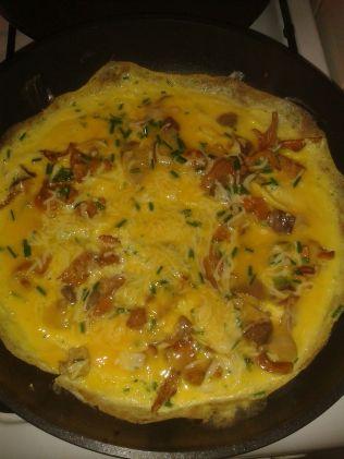 ... qui donne une délicieuse omelette!!!