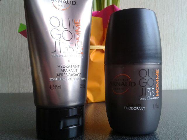 Hydratant apaisant après-rasage et déodorant